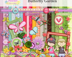 Kit Digital Butterfly Garden