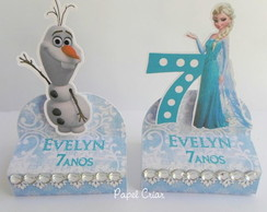 Rótulo p/ chocolate - Frozen 2