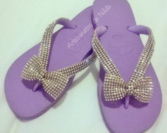 Chinelo Havaiana Top com Strass