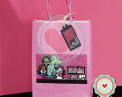 Monster High sacola de papel