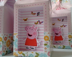 Caixa Milk PEPPA e GEORGE PIG