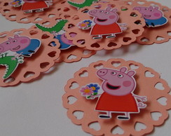 TAG Peppa e George Pig
