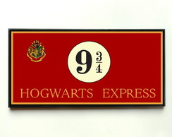 Quadro Harry Potter Hogwarts Express