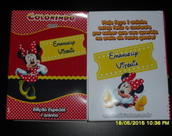 Revistinha personalizada Minnie