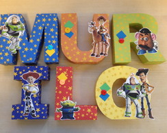 LETRAS 3D - TOY STORY