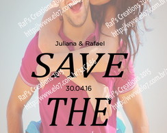 Convite Save The Date Digital