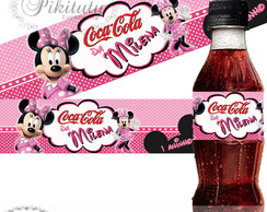 Rótulo Mini Coca Cola Minnie