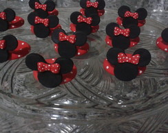 Porta Doces Minnie e Mickey