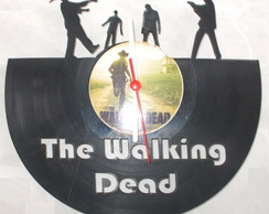 Relógio Disco Vinil - The Walking Dead