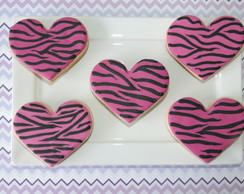 Biscoitos Decorados Animal Print