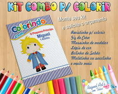 Kit Colorir: combo
