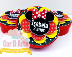 Latinhas Minnie scrapbook