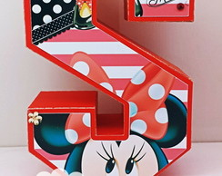 Letras 3D Minnie scrap