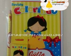 KIT DE COLORIR BRANCA DE NEVE CUTE
