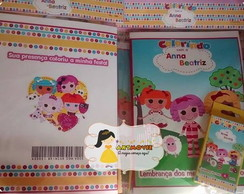 kit de colorir lalaloopsy