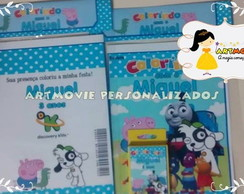 KIT DE COLORIR DISCOVERY KIDS