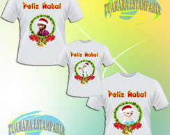 Kit Camiseta - Frozen Natal 2