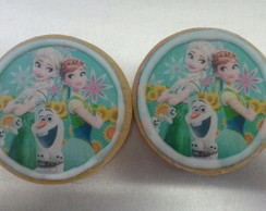 Biscoito decorado Frozen Fever