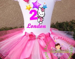 Fantasia Personalizada HELLO KITTY tutu