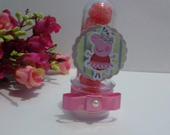 MINI TUBETE PEPPA PIG COM TAG