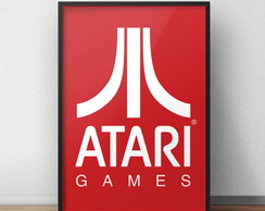 Quadro Atari Game Retro