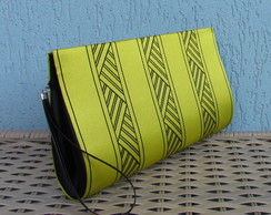 Clutch Estampa Abstrata