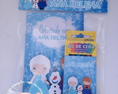 Kit colorir Frozen cute