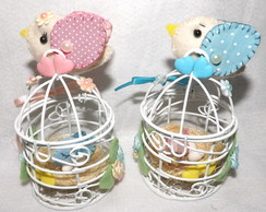 Mini gaiolinhas decoradas