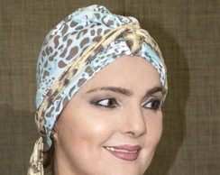 Turbante Animal Print