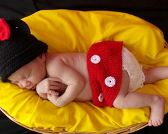 NEWBORN PHOTOS - MICKEY/MINNIE