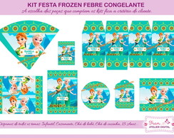 Kit Digital Frozen Febre Congelante