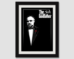 Quadro Poderoso Chefao Godfather N7 Filme Cinema Tv Paspatur