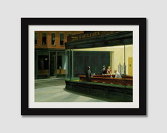 Quadro Pintores Famosos Edward Hopper N7 Decorativo Paspatur