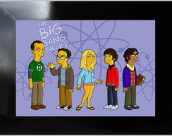 QUADRO POSTER - BIG BANG THEORY