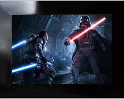 QUADRO POSTER - STAR WARS - ACTION