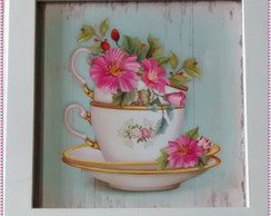 Quadro Decorativo - Flowers Cup