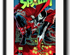 Quadro Spawn Comics com Paspatur
