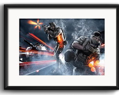 Quadro Battlefield Game com Paspatur