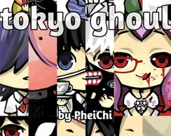 Chaveiros Tokyo Ghoul