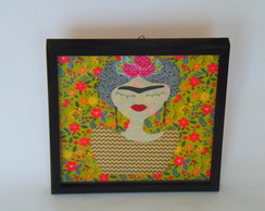 Quadro Decorativo Patch Frida