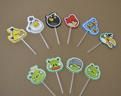 Tag / Topper Angry Birds