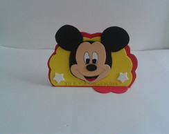 PORTA GUARDANAPO DO MICKEY