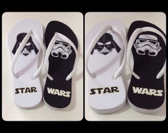 Chinelo adulto personalizado Star Wars