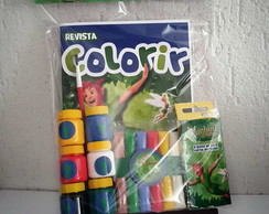 Kit Colorir Peter Pan - Modelo II