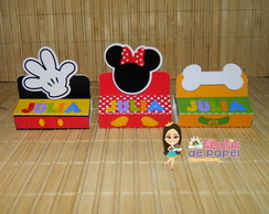 Porta Chocolate Duplo Casa do Mickey III
