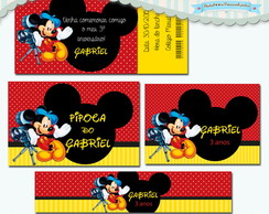 Kit Festa Infantil Mickey Cinema