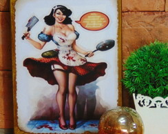 Quadro Vintage Pin Up