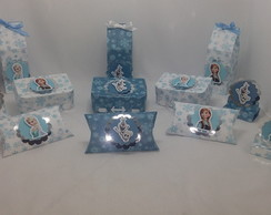 Kit festa - Frozen azul