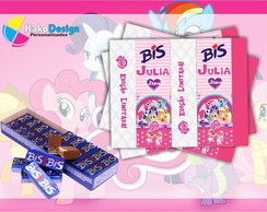 Rótulo para chocolate My Little Pony