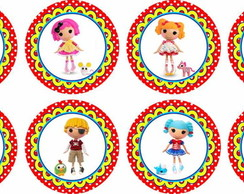 Lalaloopsy 25 Toppers Adesivos